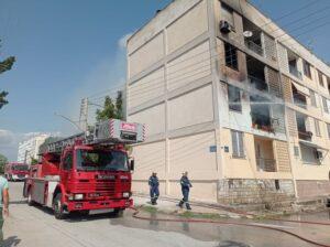 Υπέστη ελαφρά εγκαύματα γυναίκα από πυρκαγιά στο διαμέρισμα της