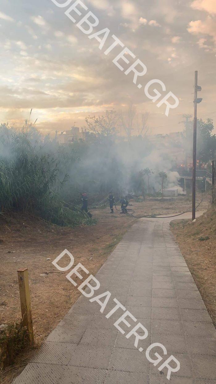 Πυρκαγιά ΤΩΡΑ στο Ρέμα στον Αγ.Δημήτριο Αττικής