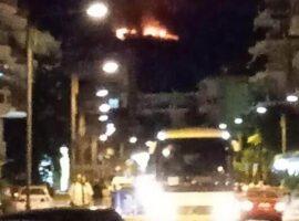 Πυρκαγιά ΤΩΡΑ σε δασική έκταση στο Βαθύλακκο Δράμας (Φωτο)