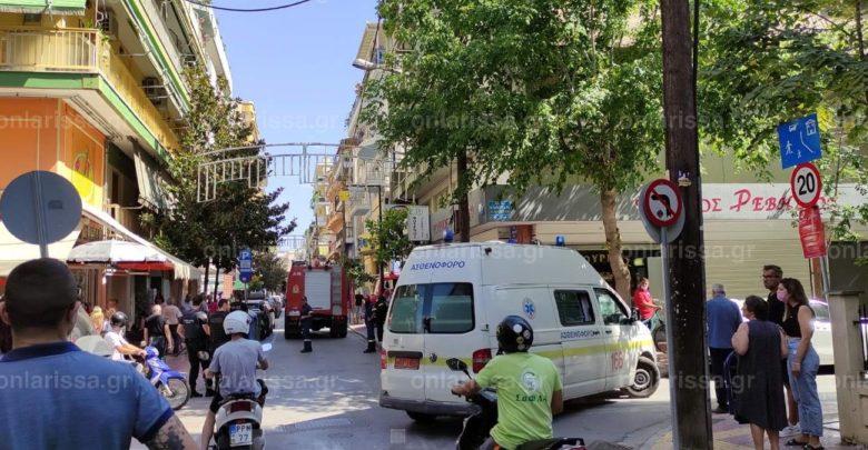 Πυρκαγιά σε διαμέρισμα στο κέντρο της Λάρισας