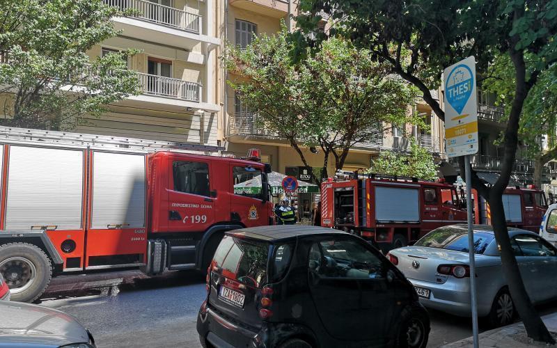 πυρκαγιά - Θεσσαλονίκη