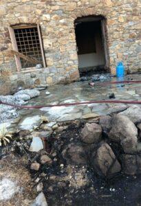Πυρκαγιά σε κατοικία στη Μύκονο – Ξέσπασε από το σαλόνι