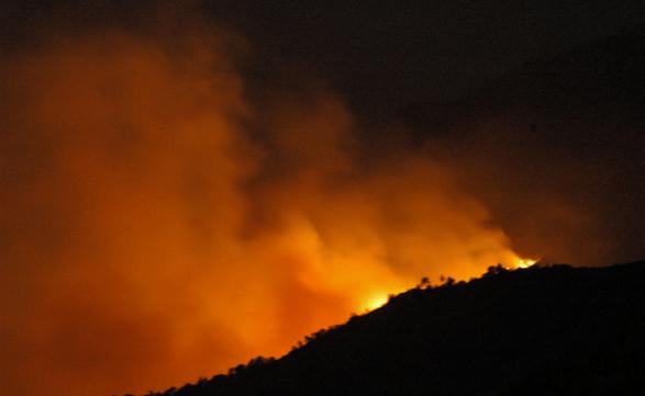 Πυρκαγιά ΤΩΡΑ σε δασική έκταση στην περιοχή Μενδενίτσα Φθιώτιδας