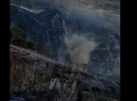 Νέος μεγάλος σεισμός στο Ηράκλειο – Κατολίσθηση στον Κουδουμά.(βίντεο)