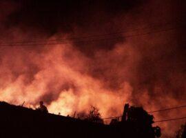 Πυρκαγιά σε δασική έκταση στα Άγναντα Ηλείας
