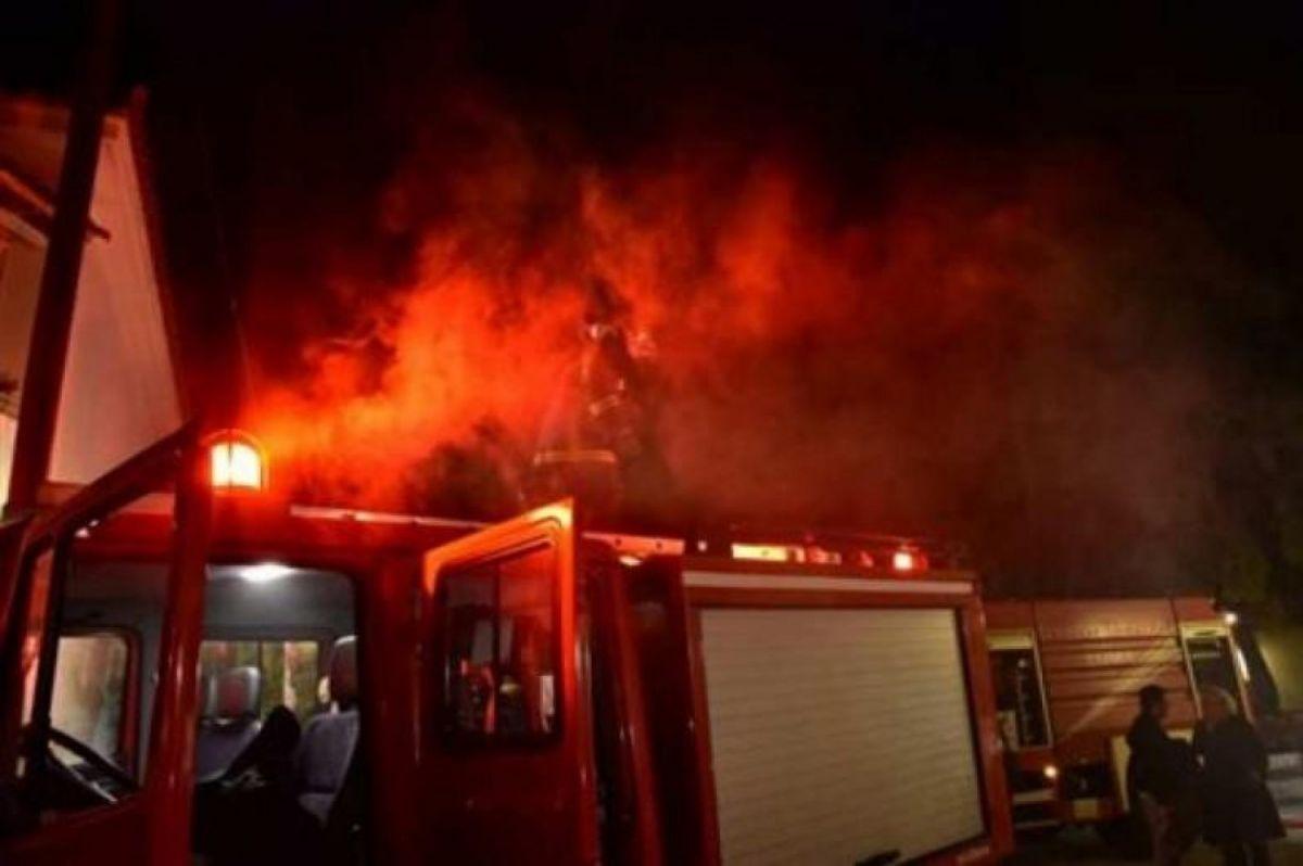 Πυρκαγιά σε μονοκατοικία στην Ευβοία