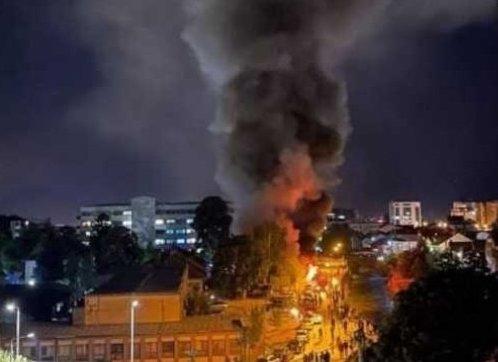 Τέτοβο: 10 νεκροί από πυρκαγιά σε μονάδα για ασθενείς με κορονοϊό