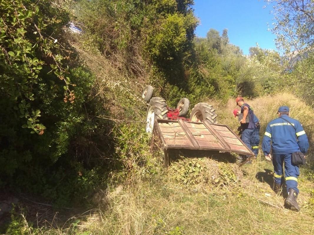 Αγρίνιο: Νεκρός 42χρονος πατέρας δύο παιδιών - Καταπλακώθηκε από γεωργικό ελκυστήρα
