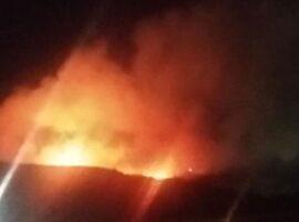 Πυρκαγιά σε εξέλιξη στον ΧΥΤΑ Φυλής