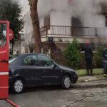 Πυρκαγιά σε διαμέρισμα στην Νίκαια - Εκτενείς υλικές ζημιές