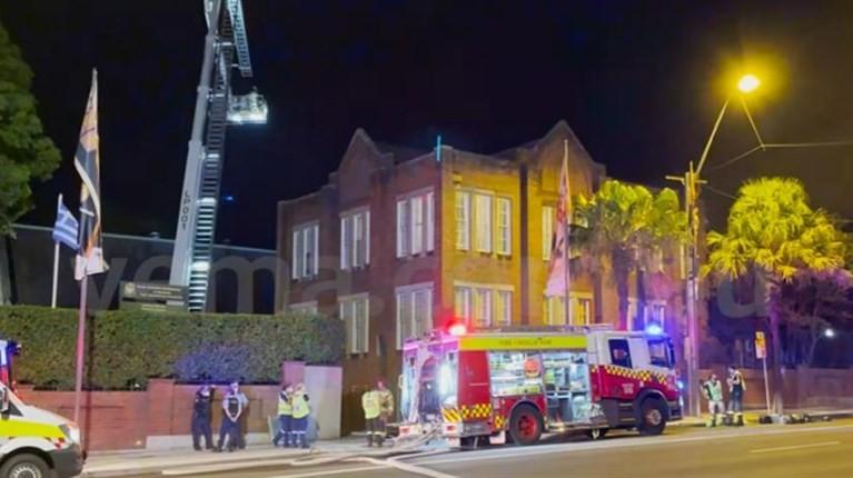 Σίδνεϊ: Μεγάλη πυρκαγιά στον Καθεδρικό Ναό Ευαγγελισμού της Θεοτόκου