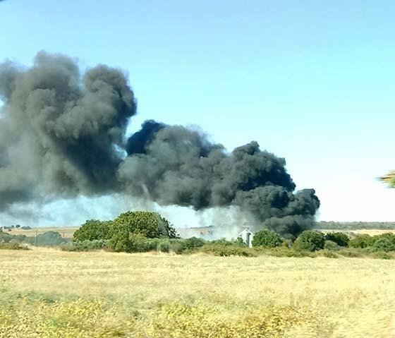 Πυρκαγιά σε θαμνώδη περιοχή του χωριού Αγνάντια στην Αλεξανδρούπολη