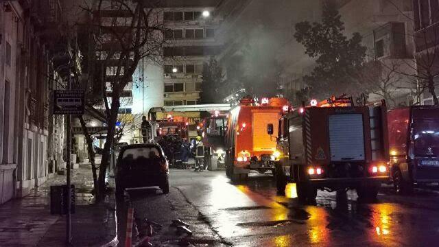 Πυρκαγιά σε εγκαταλελειμμένο κτίριο στο Αιγάλεω Αττικής