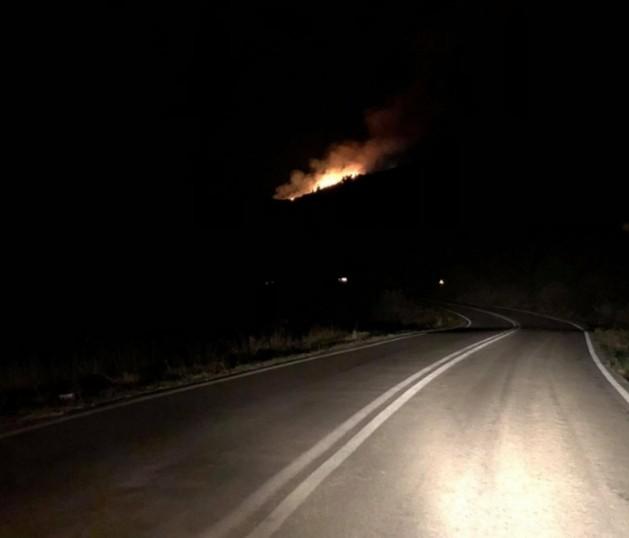 Δασική πυρκαγιά ΤΩΡΑ σε εξέλιξη στα Ανινάτα Κεφαλονιάς (Φωτο)