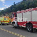 Λιβαδειά-Σοβαρό τροχαίο – Αυτοκίνητο έπεσε σε γκρεμό 60 μέτρων