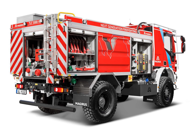 Η Magirus παρουσιάζει το πυροσβεστικό όχημα TLF 3000-W