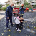Οι μαθητές του 5ου Νηπιαγωγείου Χολαργού έγιναν… πυροσβέστες για μία ημέρα