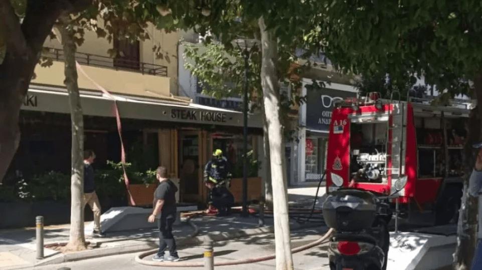 Πυρκαγιά σε εστιατόριο στο Π. Φάληρο - Προκλήθηκαν υλικές ζημιές