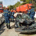 Εκπαίδευση 4ου Έτους Δοκίμων Ανθυποπυραγών της Πυροσβεστικής Ακαδημίας.(φωτό)