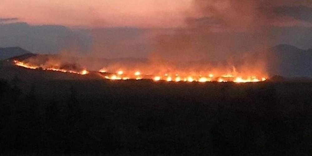 Πυρκαγιά σε χορτολιβαδική έκταση στη Νέα Βύσσα Ορεστιάδας
