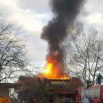 Μεγάλη πυρκαγιά ΤΩΡΑ σε μονοκατοικία στο Κορωπί Αττικής