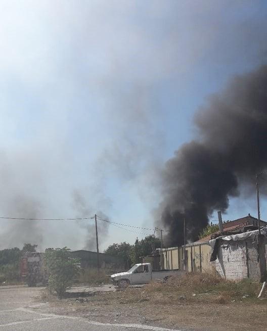 Αγρινίο: Μεγάλη κινητοποίηση για πυρκαγιά στα Αη Βασιλιώτικα