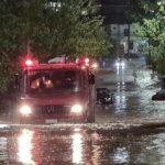 Αττική: Έπεσαν 147 τόνοι νερού ανά στρέμμα- 1146 οι κλήσεις που έχει δεχτεί η πυροσβεστική
