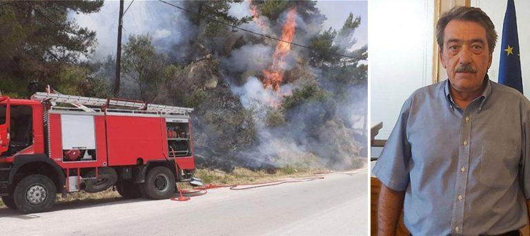 Πρέπει να ενισχυθεί άμεσα ο στόλος της Πυροσβεστικής» -83 ενάρξεις πυρκαγιών στα Ιόνια Νησιά