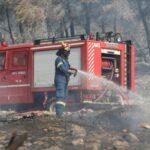 Πυροσβεστική: 7 δασικές πυρκαγιές το τελευταίο 24ωρο