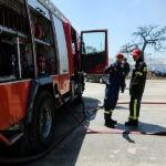 Πυρκαγιά εν υπαίθρω στο Διμήνι Μαγνησίας