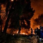 Πυρκαγιά στην περιοχή Μυλοπόταμος στα Κύθηρα