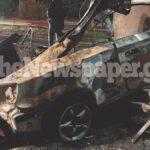 Βόλος: Τραγικό τροχαίο στην εθνική οδό - Απανθρακώθηκε μέσα στο όχημα ο οδηγός