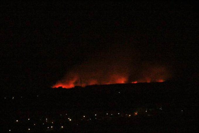 Τεράστια πυρκαγιά αυτήν την στιγμή στην περιοχή του Δασοχωρίου Ξάνθης